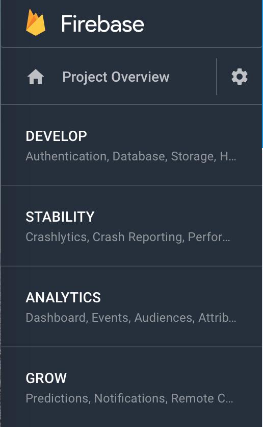 Firebase services