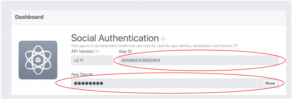 Firebase Social Authentication. SignIn with Facebook Account in Swift. - Facebook app id 1024x349 - Firebase Social Authentication. SignIn with Facebook Account in Swift.