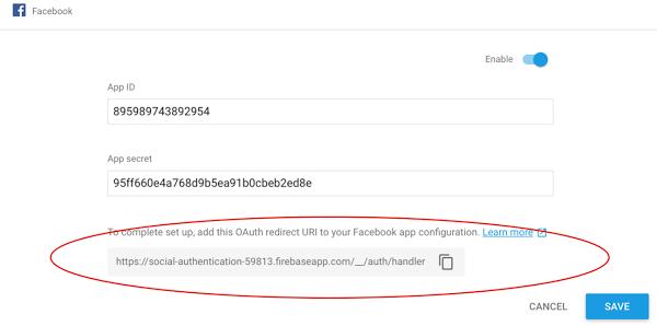 Firebase Social Authentication. Enable Facebook Sign in. Firebase Social Authentication. SignIn with Facebook Account in Swift. - firebase enable facebook - Firebase Social Authentication. SignIn with Facebook Account in Swift.